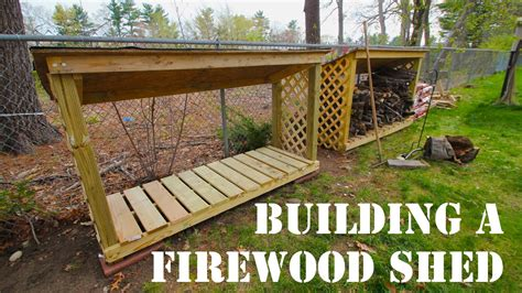 How To Build Firewood Shed by How To Build A Firewood Shed Mdm Builds A Firewood Shed