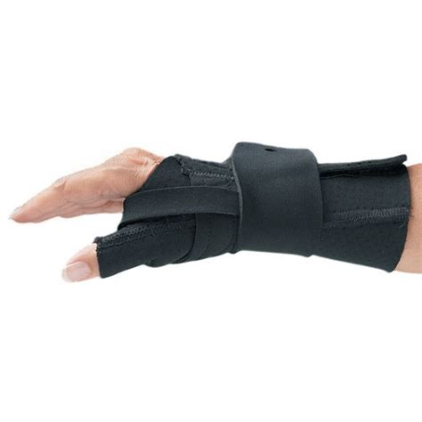 comfort cool brace comfort cool wrist and thumb cmc splint opc health