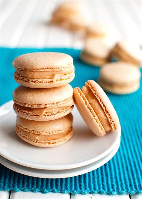 macarons recipe salted caramel macarons the tough cookie