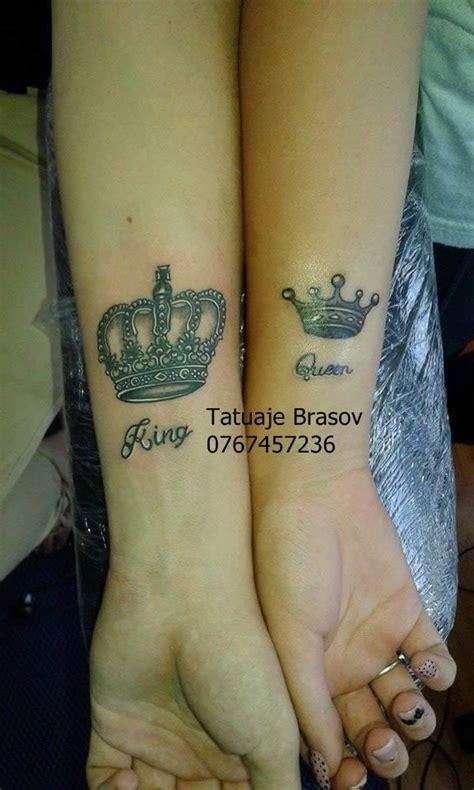 him and her tattoo designs tatuaje coroane king and qween krown krown