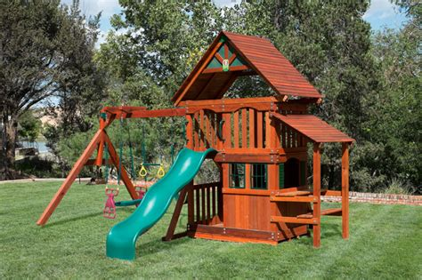 swing west wooden swing set for every budget and