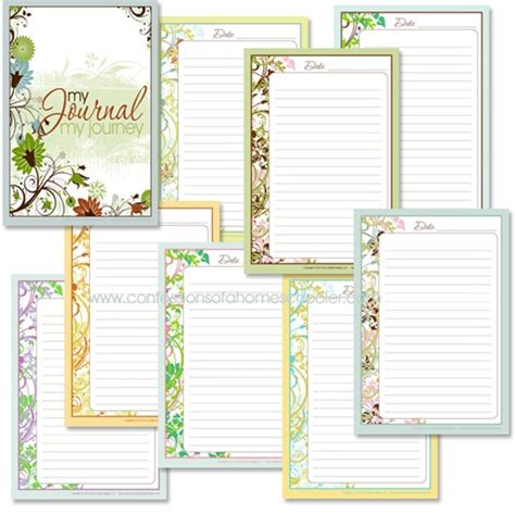 printable bible study journal pages 6 best images of bible journal printable pages free