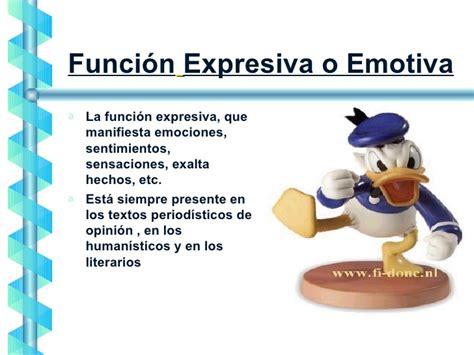 imagenes emotivas ejemplos funciones del lenguaje
