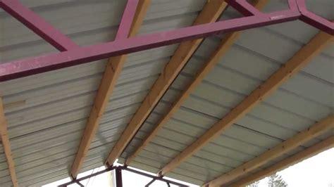 steel trusses  utility buildings diy youtube
