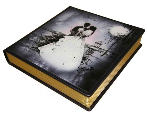 Wedding Album Glass Cover by Marlwood Wedding Albums