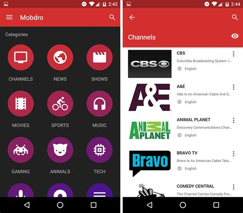 application for android mobdro android mobdro app