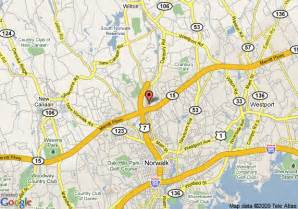 map of homestead norwalk stamford norwalk