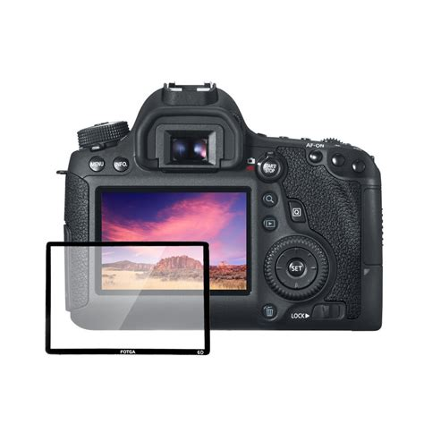 Screen Protector For Canon fotga professional lcd optical glass screen protector for