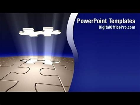 powerpoint template the only missing puzzle now there in missing piece of puzzle powerpoint template backgrounds