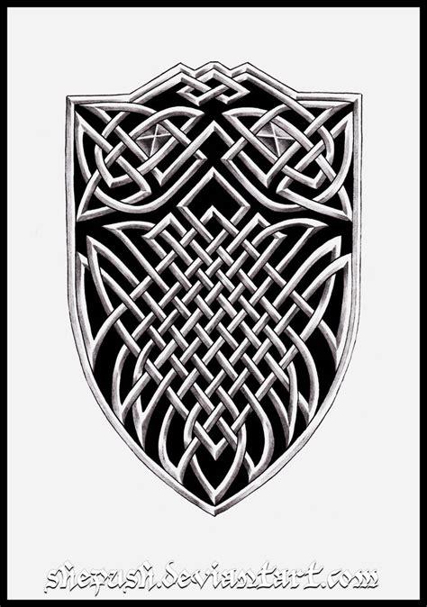 celtic shield tattoo ideas celtic shield