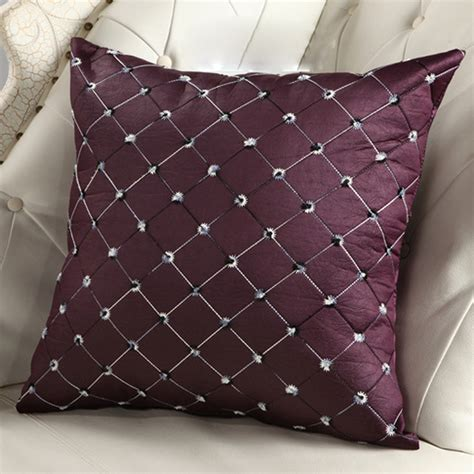 cushion supports for couches fashion color pillow cover lumbar support home decoration