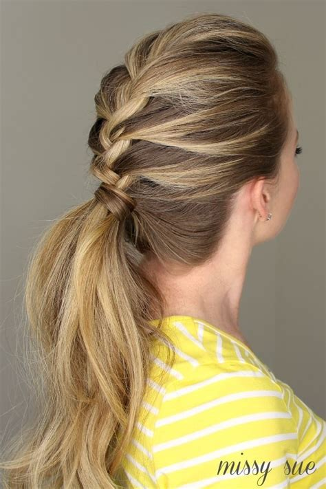 everyday ponytail hairstyles 2015 fall hairstyles 2017 french braid ponytail everyday hairstyles for women long