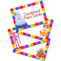 Blank Candyland Template by 6 Best Images Of Candyland Cards Printable