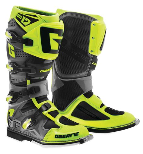 motocross boots for sale gaerne mens sg 12 mx motocross road boots ebay