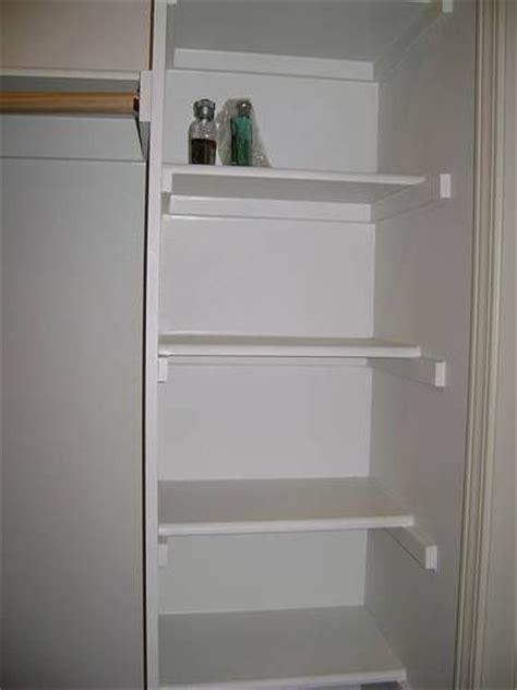 do it yourself wood closet shelving made easy d i