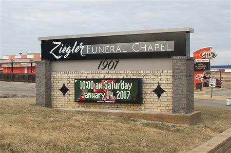 ziegler funeral chapel dodge city ks luminous neon