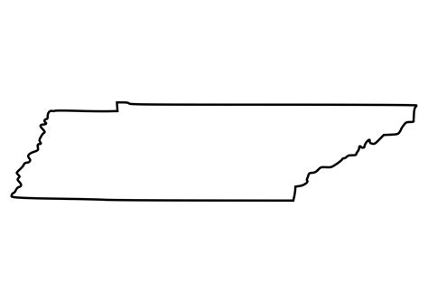 State Of Tennessee Outline clipart tennessee outline