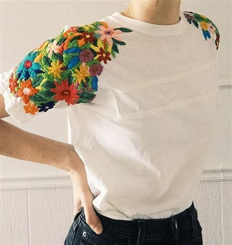 embroidery design t shirts best 25 shirt embroidery ideas on pinterest diy