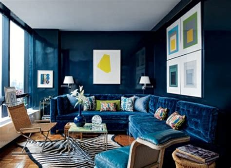peacock blue living room glossy walls style edition blog style edition