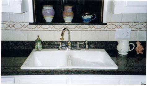drop in porcelain kitchen sink kitchen sinks white construction