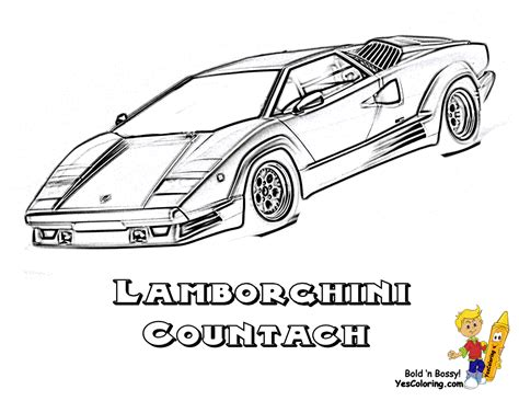 rich relentless lamborghini cars coloring lamborghini
