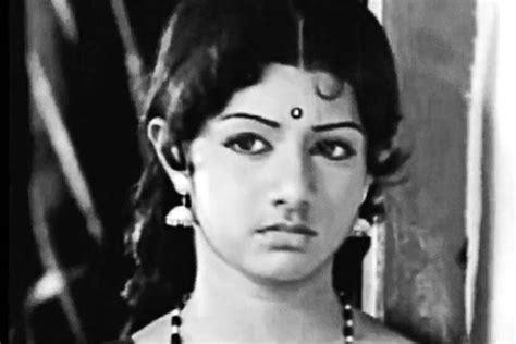 sridevi first movie the rebels of tamil cinema livemint