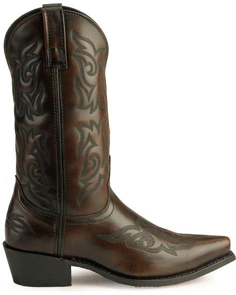 laredo mens cowboy boots laredo s hawk cowboy boot 6862 ebay