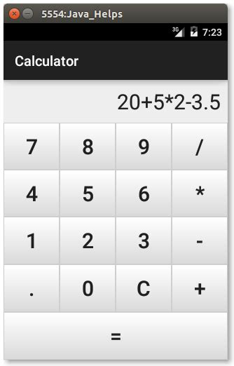android tutorial make android calculator app how to android simple calculator