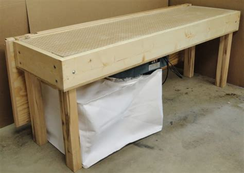 test picture downdraft sanding table the shop wood