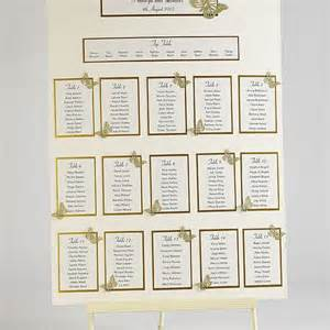 wedding table plans template butterfly wedding table plan seating kit a2 confetti co uk