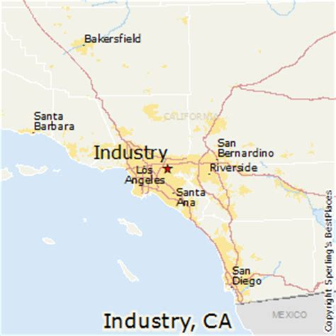 city of industry ca map best places to live in industry california