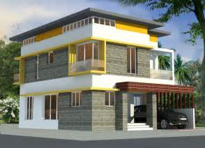 2204 sq ft two story 4 bedroom attractive home design