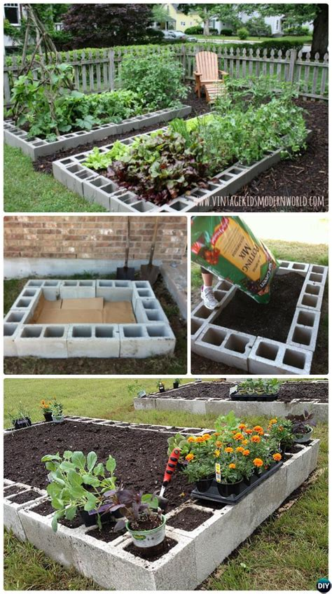 diy raised garden bed ideas instructions  plans