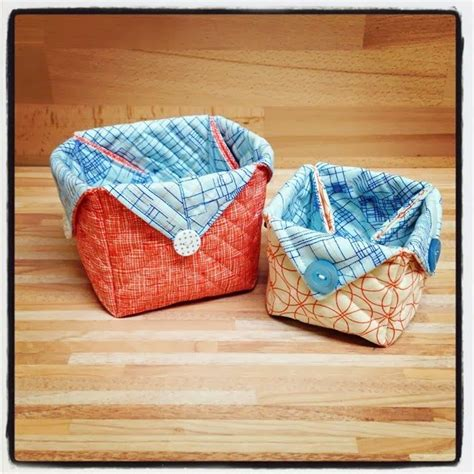 pattern fabric boxes fabric baskets with link to a free pattern other