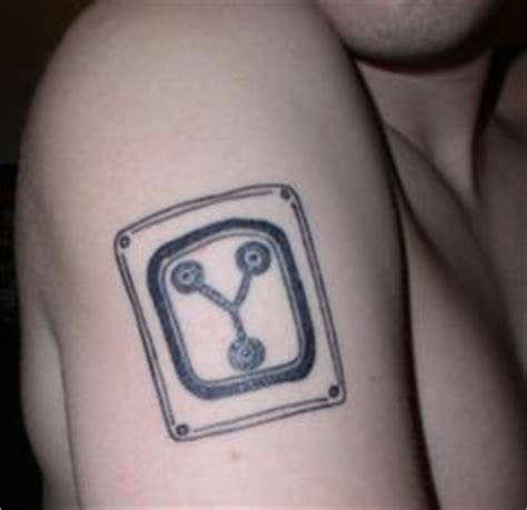 flux capacitor tattoo flux capacitor bttf ink
