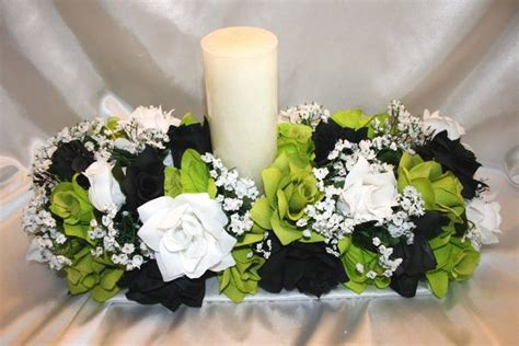 66 Best Images About Lime Green And Black Wedding Ideas On Lime Green Centerpieces