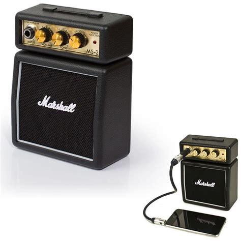 Speaker Marshall Mini marshall ms 2 black portable micro lifier speaker for iphone ipod samsung ebay