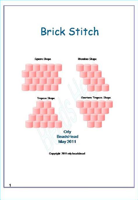 beading brick stitch tutorial brick stitch tutorial bead graphics