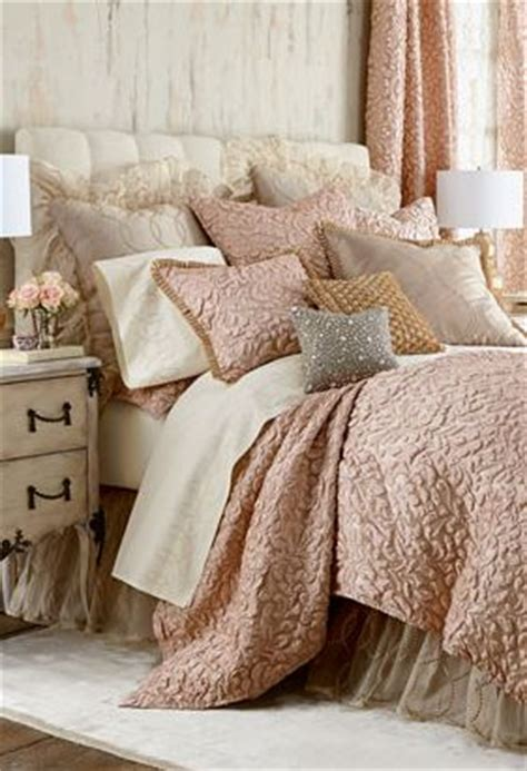 blush colored bedding blush bedding with beautiful texture
