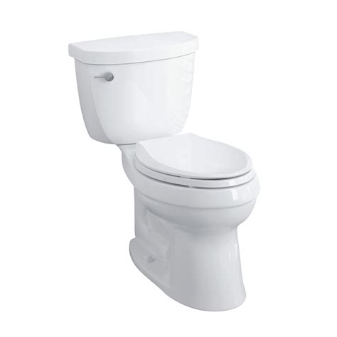 kohler cimarron elongated comfort height toilet kohler k 3609 u cimarron vitreous china 1 28 gpf class