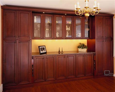 Dining Room Storage | custom family rooms