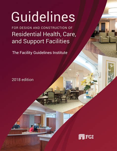 design guidelines for healthcare facilities purchase the guidelines fgi