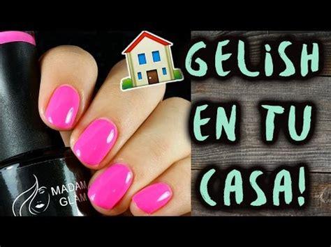 youtube tutorial uñas de gel ponte u 209 as de gelish en tu casa tutorial youtube