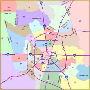 houston suburbs map houston zip code map neighborhoods images