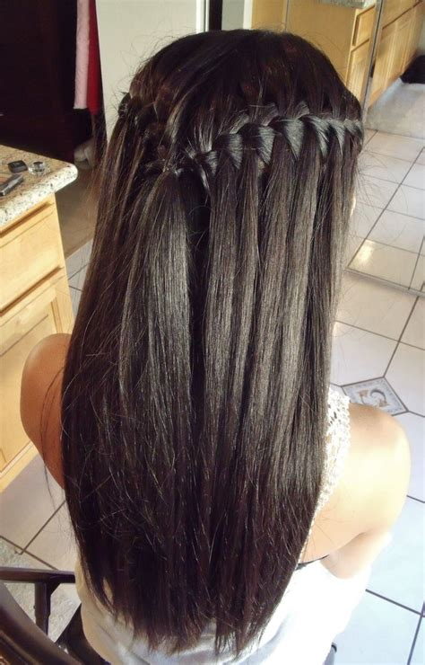 hairstyles for long straight hair tied up best 25 straight back braids ideas on pinterest