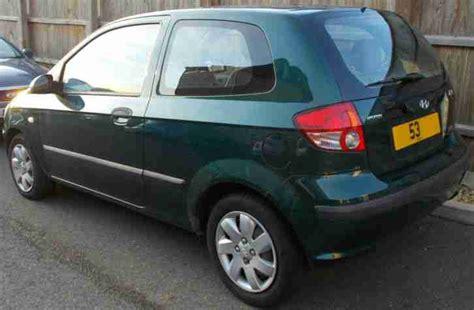 hyundai getz 1 3 gsi hyundai 2003 getz 1 3 gsi green car for sale