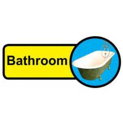 bathroom signages dementia friendly oblong bathroom sign healthcare co uk