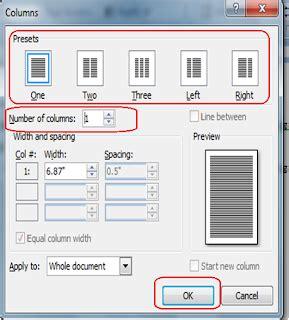 teks layout adalah membuat teks berkolom di microsoft word 2007