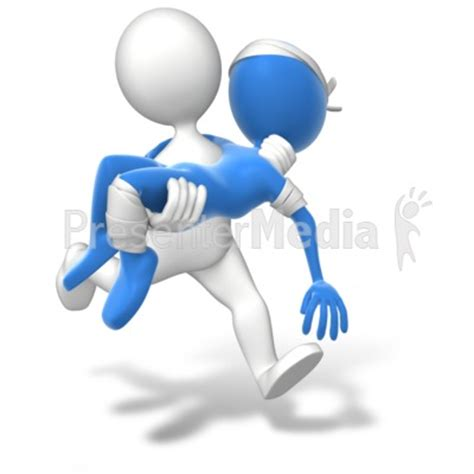 Running Carry Injury Presentation Clipart Great Presenter Media Images