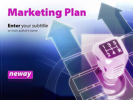 free powerpoint template marketing plan presentation